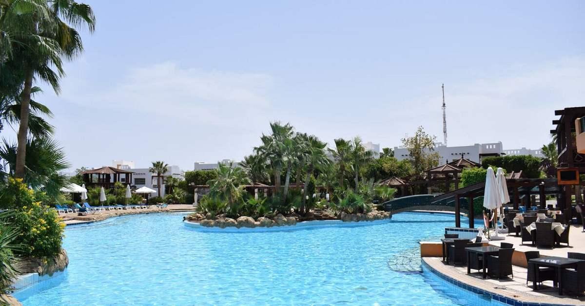 New Studio in Delta Sharm pool