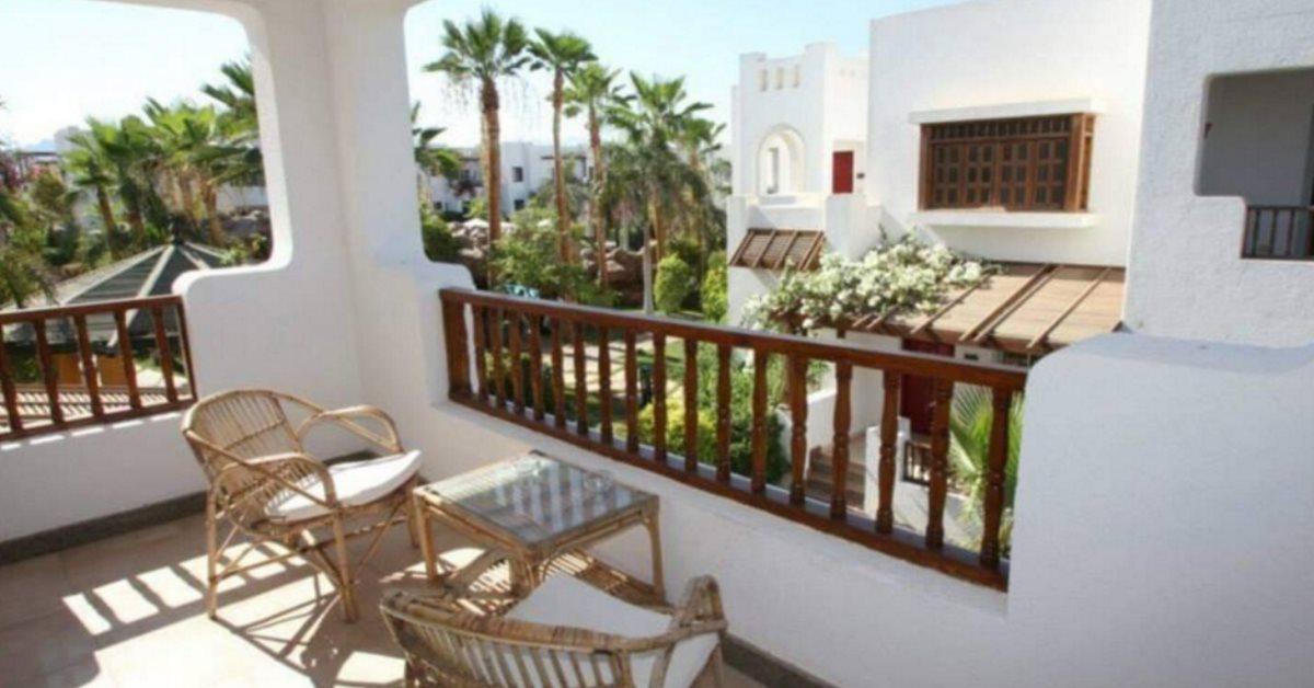 Delta Sharm balcony