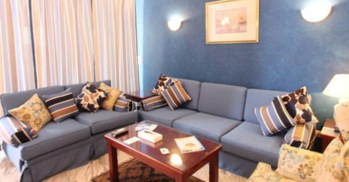 Delta Sharm living room