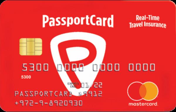 פספורט קארד – ביטוח נסיעות